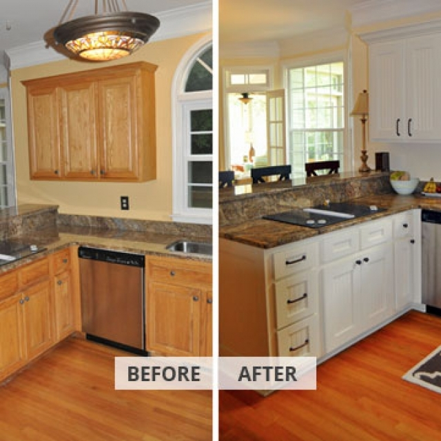 Affordable Cabinet Refacing Services North Carolina Experts